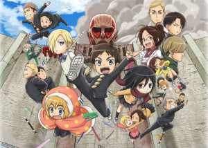 attack on titan high