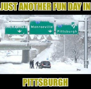 snow pittsburgh