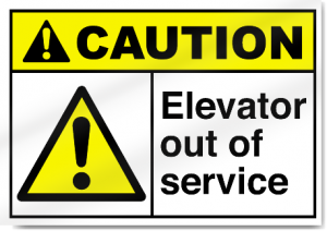 High-caution-elevator-out-of-service-sign-1008