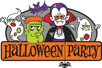 Image result for halloween party at the library